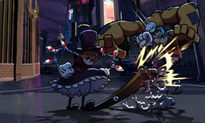 Skullgirls Peacock fight