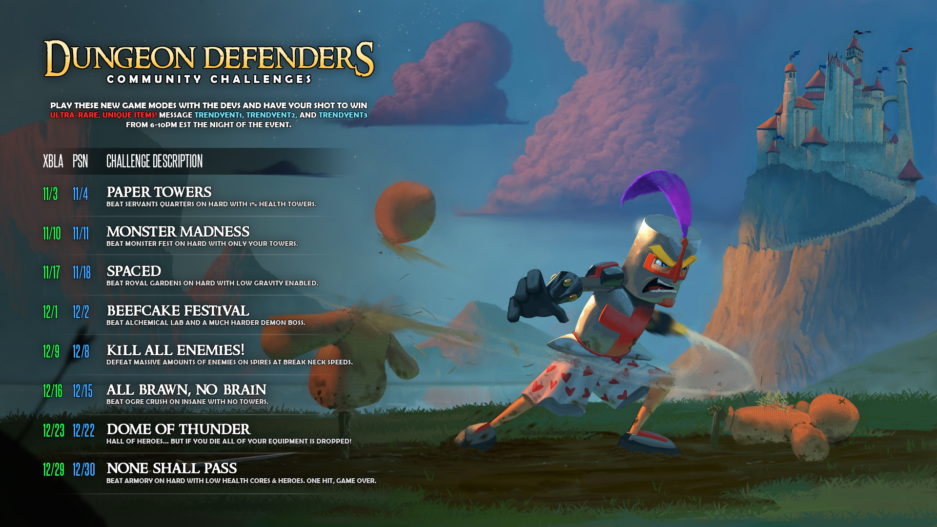 dungeon defenders royal gardens guide squire
