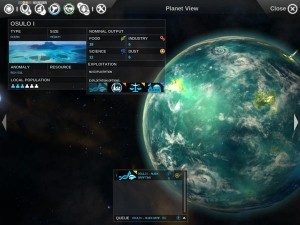 Endless Space and World Management