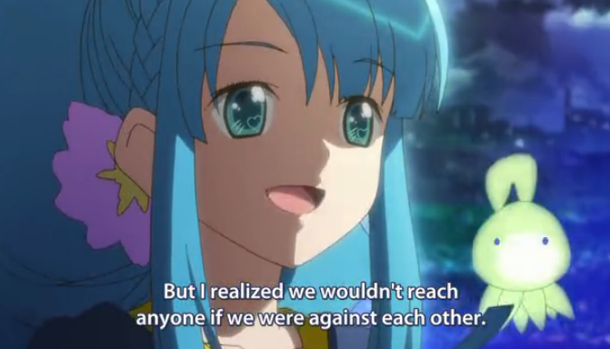 AKB0048 episode 13 against each other