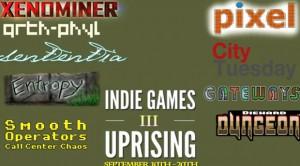 XBLA Indie Games Uprising III