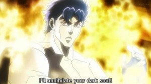 Jojo's Bizarre Adventure Episode 7 I'll Annihilate your dark soul