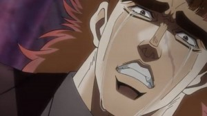 Jojos Bizarre Adventure Episode 7 Speedwagon Manly Tears