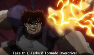 Jojo's Bizarre Adventure Episode 7 Tornado Overdrive