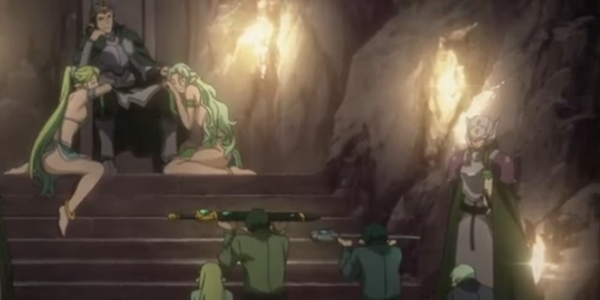 Sword Art Online episode 20 Sigurd Living the Dream