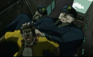 Jojo's Bizarre Adventure Episode 10 Corrupt Cops