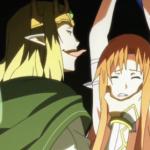 Sword Art Online Licking