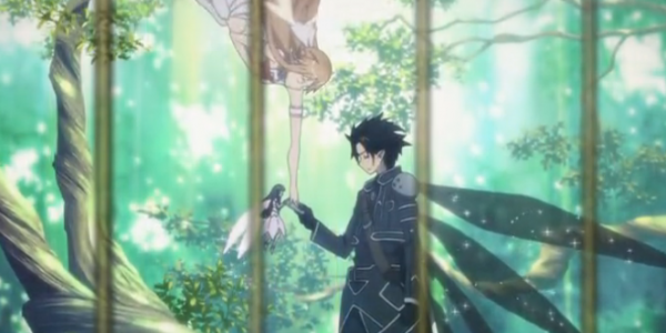 Sword Art Online Kirito and Yui
