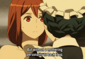 Maoyuu Maou Yuusha episode 4 Mothering personality