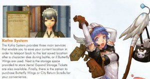 Ragnarok Online 2 legend of the Second Kafra System