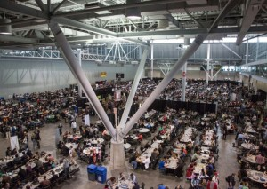 PAX East Gaming Area