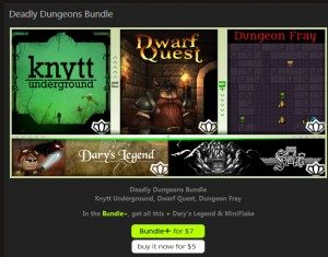 IndieBundle.org Deadly Dungeons Bundle