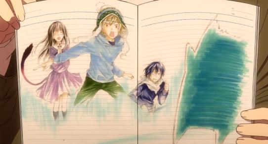 Noragami book illustrations