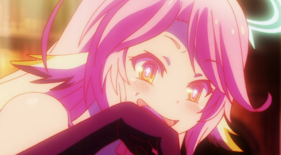 No game No Life episode 6 eager Jibril