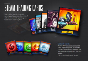 Gaming Bonuses Steam Trading Cards