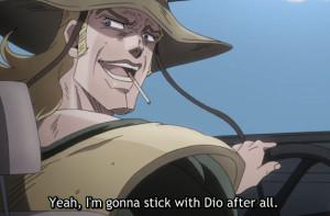 Jojo's Bizarre Adventure Episode 41 Hol Horse is a Jerk
