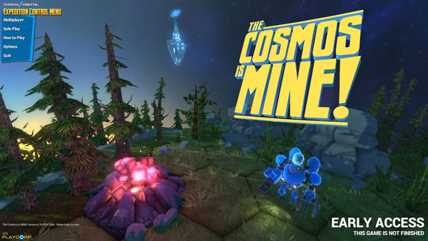 The Cosmos is Mine! Title Screen