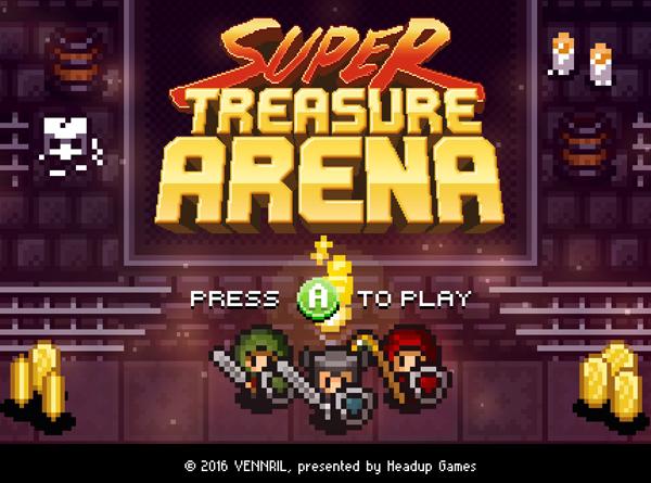 Super Treasure Arena Featured Image