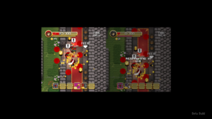 Super Treasure Arena Split Screen
