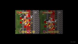 Super Treasure Arena Split Screen