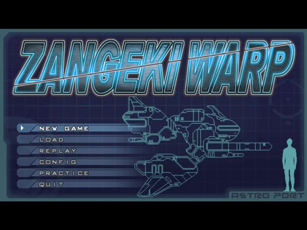 Zangeki Warp Title